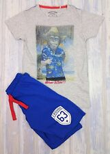 Baby Boys EBOUND DENIM  Funky Monkey Shorts & T-Shirt Set Age 8 (7-8) Years BNWT