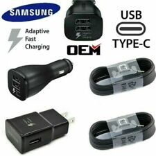Original OEM Samsung-GalaxyS8 S8+ S9 Type-c-Cable-Fast-Charging-Car-Wall-Charger