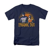 Batman ROBIN Classic TV Dynamic Duo Licensed Men's Graphic Tee Shirt SM-5XL
