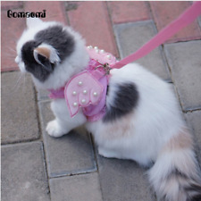 Gomaomi® Adorable Cat & Dog Safety Walking Vest Harness + Matching Lead Leash