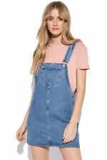 New LUCK & TROUBLE Womens Penny Pinafore Blue