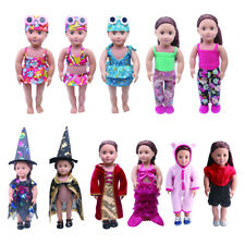 For 18' American Girl Doll Generation Doll Clothes Pajamas Swimwear Bikini Shirt