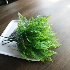 5-fork Green Grass Artificial Plants For Plastic Flowers Household Decoration