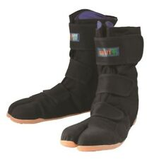MARUGO Magic Safety/ Unisex Japanese Jika-tabi boots Ninja shoes /Black