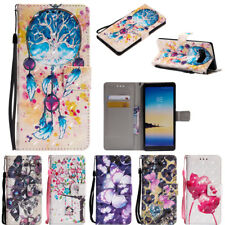 For Samsung Galaxy Note 8 S8 S9+ PU Leather Wallet Flip Card Phone Case Cover