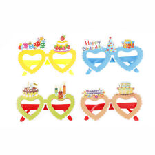1X Heart Cartoon Party Glasses For Happy Birthday Sunglasses Party Supplies