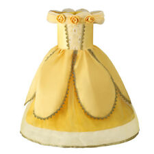 Girls Princess Belle Dress Beauty and the Beast Cosplay Costume Fancy Dresses