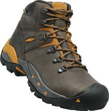 New In Box KEEN Mens Cleveland Waterproof Soft Toe Brown Work Boots 1013263