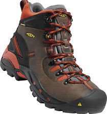 "New In Box KEEN Mens Pittsburgh 6"" Waterproof Soft Toe Brown Work Boots 1009709"