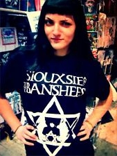 SIOUXSIE & THE BANSHEES ISRAEL T-SHIRT ANTS SLIT