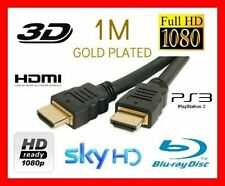 HDMI Cable High Speed 1.4v 1080p 3D HDTV PS3 Xbox 360 SKY Lead Wire Sky TV