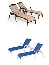 Chaise Lounges Set of 2 Color ChoicesChair Patio Pool Furniture Outdoor Modern