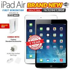 New & Sealed Box APPLE iPad Air 1st Gen Black White Retina PC Tablet (WiFi Only)