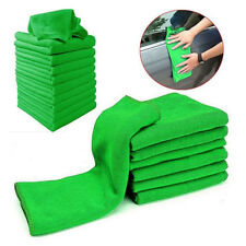 5/10Pcs Soft Auto Car Microfiber Wash Cloth Cleaning Towels*Hair Drying Duster