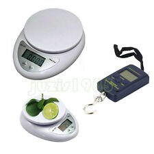 5kg/1g 40kg/10g Digital Electronic Kitchen Food Postal Scale Weight Balance bs