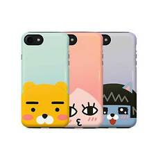 New Cute iPhone X Cover Skin Kakao Friends Pearl Face Combo Cell Phone Case