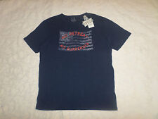 LUCKY BRAND T-SHIRT MENS SIZE L SHORT SLEEVE CREWNECK NAVY COLOR NEW WITH TAGS