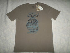 LUCKY BRAND T-SHIRT MENS FORD SIZE S SHORT SLEEVE CREWNECK NEW WITH TAGS