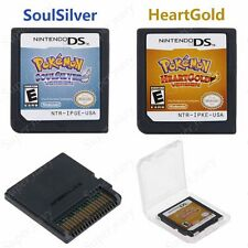 Pokemon HeartGold / SoulSilver Version Game Card For Nintendo 3DS NDSi NDS Lite