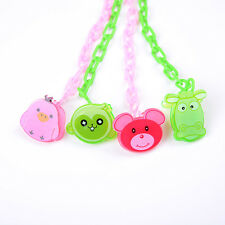 Cartoon-Baby Dummy Pacifier Soother Nipple Chain Clip Buckle Holder BH