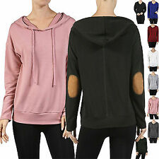 Casual Long sleeve Casual Light Hoodie Sweatshirt Jumper Sweater Pullover Tops