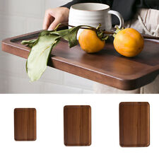 Solid Wood Tea Tray Storage Table Serving Tray 18.5×13cm/ 25×17cm/ 30×20cm