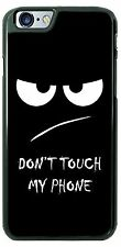 Don't Touch my Phone Slogan Phone Case Cover for iPhone 6 Samsung LG HTC gift