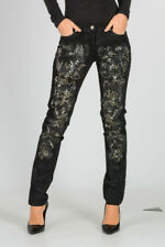 ROBERTO CAVALLI  New woman black Stretch Pants Made in Italy NWT