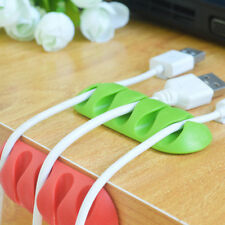 Line Fixer Winder Multipurpose Wire Cord Cable Tidy Holder Drop Clips .