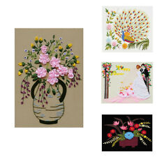 DIY 3D Cross Stitch Kits Painting Embroidery for Home Deocration Needlework