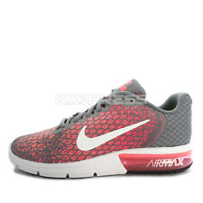 WMNS Nike Air Max Sequent 2 [852465-003] Running Cool Grey/White-Pink