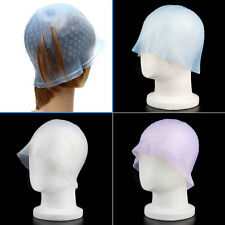 Professional Reusable Hair Colouring Highlighting Dye Cap Frosting Tipping  KZ