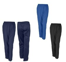 LADIES RELAXED STYLE, POLY/TRICOT WARM-UP PANTS, POCKETS, LEG ZIPPERS, XS-4XL