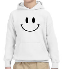 New Way 849 - Youth Hoodie Smiley Face Emoticon Emoji Happy Smile