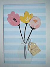 HANDMADE 3D THINKING OF YOU / GET WELL GREETING CARD WITH ENVELOPE ~You Choose