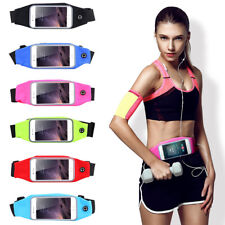 Waterproof Sport Hiking Running Belt Bum Waist Pouch Fanny Pack Camping Zip Bag
