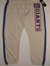 NWT NEW YORK GIANTS WOMENS 2XL MAJESTIC STRONG PLAY FLEECE SWEATPANTS PANTS