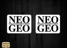 PEGATINA DECAL STICKER AUTOCOLLANT ADESIVI AUFKLEBER NEO GEO ADVANCED SYSTEM