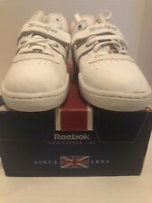 Men's NEW Classic Reebok W/O Mid SOLJA Strap White Leather Shoes