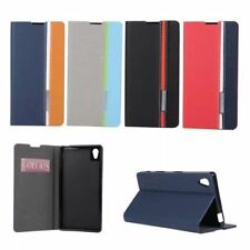 Luxury Flip Cover Stand Wallet PU Leather Case For Sony Xperia X XA Z1 Z2 Z3 +