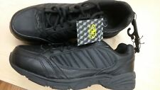 Athletic Works Mens Sport Walking-Running Shoes in Black   Sizes 7.5 - 13  Nice!