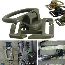 2/5x Molle Strap Backpack Bag Webbing Connecting Buckle Clip EDC Outdoor Tool