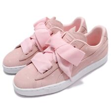 Puma Suede Heart Valentine JR Pearl Pink Kids Youth Junior Shoes 365135-03