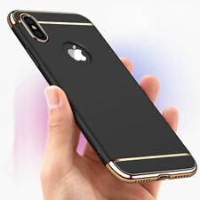 Luxury Ultra-thin Electroplate Hard Back Case Cover For Apple iPhone X 7 8 Plus