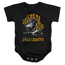 MILES DAVIS JAZZ LEGEND Licensed Infant Snapsuit S-XL
