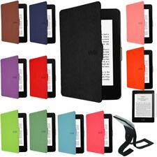 100% ULTRA SLIM MAGNETIC CASE COVER FOR NEW KINDLE 6 inch (8th Gen 2016) + Light