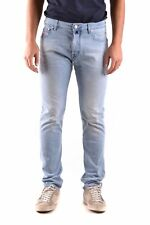Jacob Cohen Men's Mcbi160074o Blue Cotton Jeans