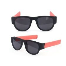 Vintage Bicycle Folding Solid Color Cycling Sun Glass For Women Men