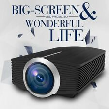 YG500 1080P HD LED Projector Home Theater Cinema LCD HDMI AV VGA Multimedia AU