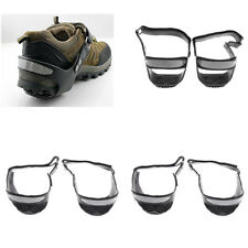 Reflective Ice Snow Shoes Boots Grips Crampons Cleats for Skiing Skating